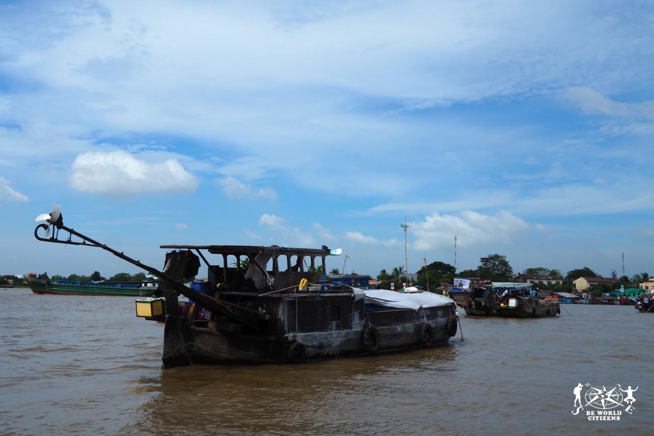 Villaggi galleggianti sul delta del Mekong