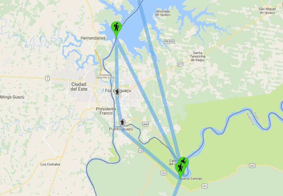 Iguazù - Le Nostre Tappe