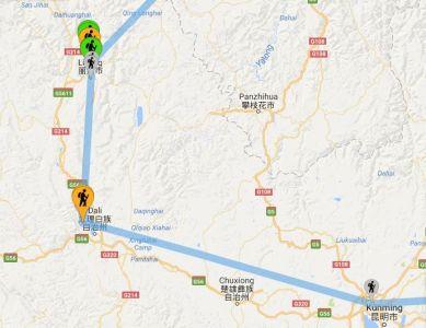 Cina: Yunnan, le nostre tappe