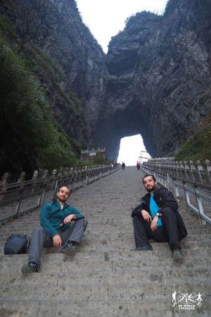 Cina: Montagna Tianmen