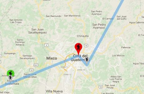 Guatemala: Città Del Guatemala - Le Nostre Tappe