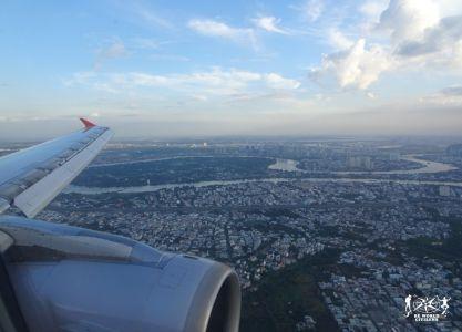 In volo verso Ho Chi Minh