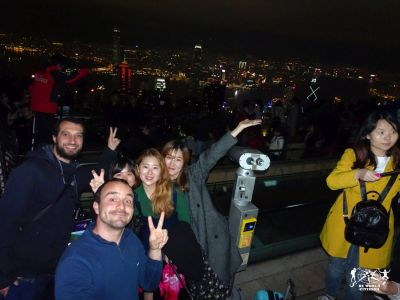 Hong Kong: Selfie sul Peak
