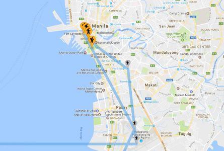 Le Nostre Tappe A Manila