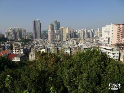 Macao: la vista dal forte