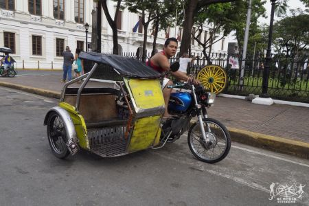 Filippine: Manila, tricycle