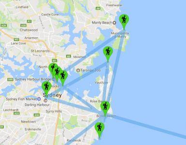 Le nostre tappe a Sydney