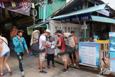 Thailandia: in partenza da Phi Phi Island