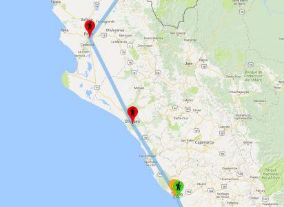Trujillo, Chiclayo, Piura - Tappe